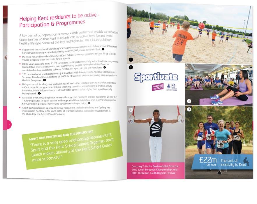KentSport annual report