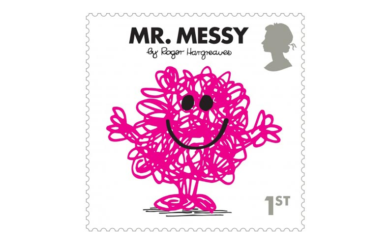 Mr Men stamps