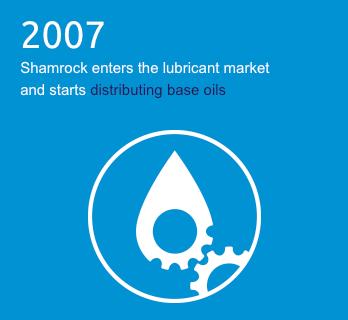 Shamrock Oils timeline 2007